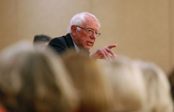 In interview with Sun, Sanders talks Yucca Mountain, minimum wage hike and climate change