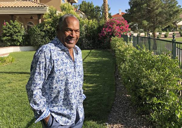 O.J. Simpson Says 'life Is Fine' In Las Vegas After Prison
