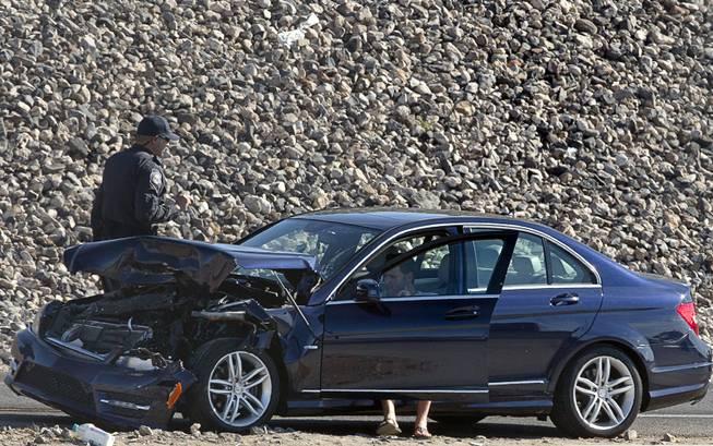 Freeway lane on 215 Beltway reopens after crash - Las Vegas Sun
