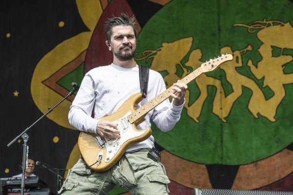 Juanes is named Latin Grammy Person of the Year