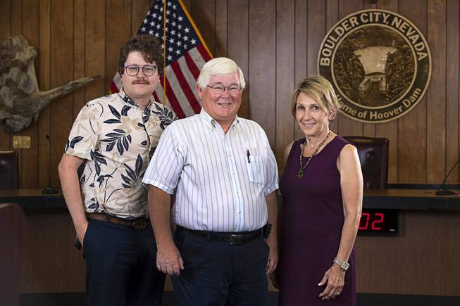 New Boulder City Mayor and Council Members