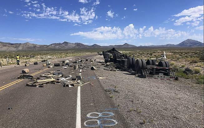 Nevada highway between Las Vegas, Ely reopens after fatal crash