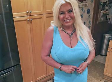 This 2017 photo provided by Mona Wood-Sword shows Beth Chapman in Honolulu.
