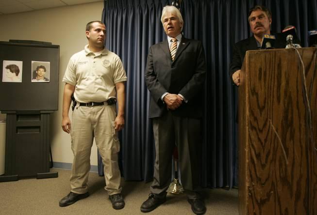 Former Nye County Sheriff Anthony DeMeo dies at 67 - Las Vegas Sun