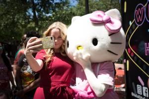 Hello Kitty Cafe Grand Opening