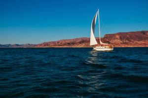 Boating at Lake Mead