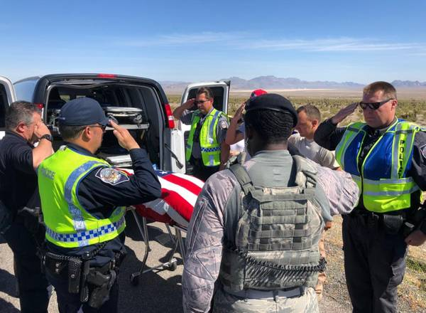 Nellis Airman Killed In Car Crash Outside Indian Springs