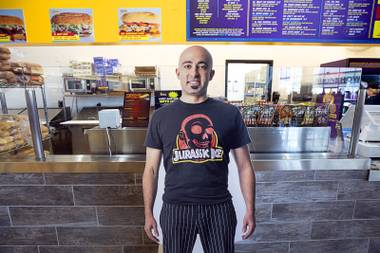 Now open on the Strip at the Fashion Show Mall, Ike's Love & Sandwiches features a high roller menu complete with a $100 sandwich named for Howard Hughes. Ike's owner Ike Shehadeh said the ...