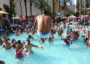 Coolio at Flamingo Go Pool