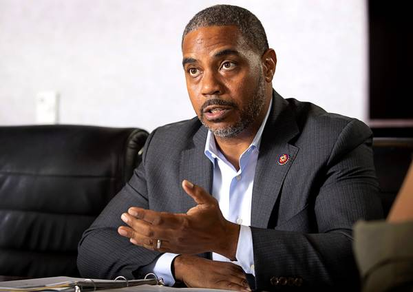 Horsford holds court on health care, trade and Trump in session with Sun editors