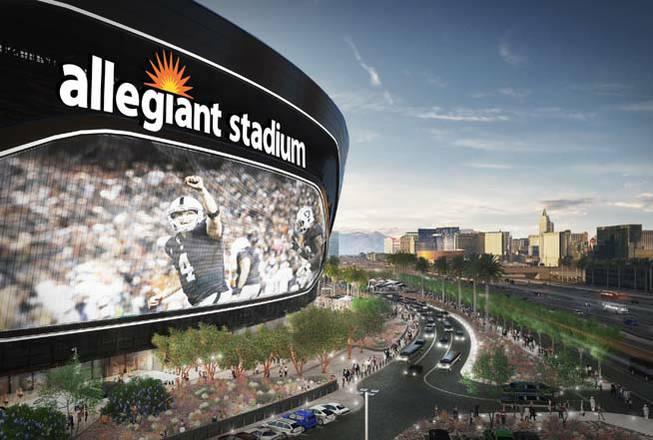 Las Vegas Raiders to play in Allegiant Stadium