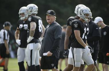 The Raiders open their final season in Oakland with more issues than certainties, a preponderance of questions that need answering before the move to Las Vegas next year. It's a study in how quickly a franchise ...