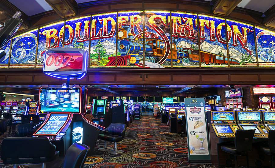A view of the casino floor at Boulder Station Thursday, Aug. 15, 2019.