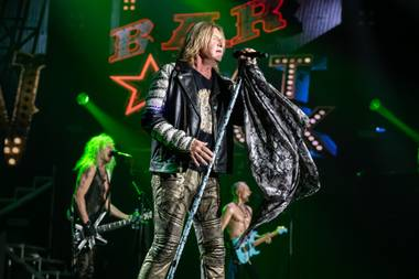 Def Leppard opened its new Planet Hollywood residency on August 15.