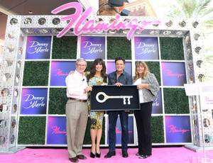 Donny & Marie Osmond Receive Keys To The Las Vegas Strip
