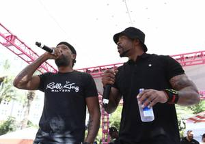 Method Man, Redman at GO Pool
