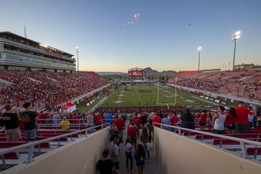 We've been attending events at the Silver Bowl since we were kids. It's what we native Las Vegans do on Saturdays in the fall, navigating the side streets to the east Las Vegas stadium to watch our beloved scarlet and gray.