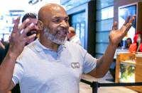 Sitting in a conference room at the Planet 13 dispensary, Mike Tyson talked proudly about his marijuana business interests and Las Vegas, the city that helped make him famous. The former boxer was there Saturday to promote his Tyson Ranch line of cannabis ...