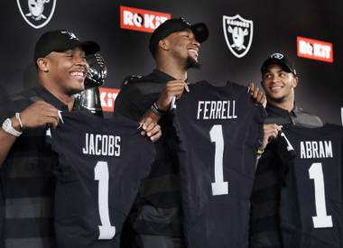 From a roster standpoint, the Las Vegas Raiders' most important development came in April in Nashville, where the team had a historic amount of capital in the 2019 NFL Draft.