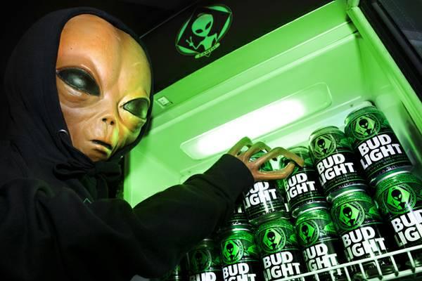 Alien-themed Bud Light hits shelves in Nevada