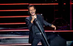 Mark Anthony performs at the Zappos Theater