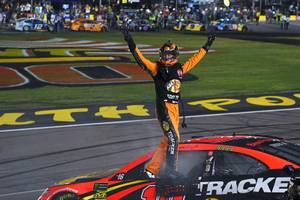 Martin Truex Jr. With Second Las Vegas Win