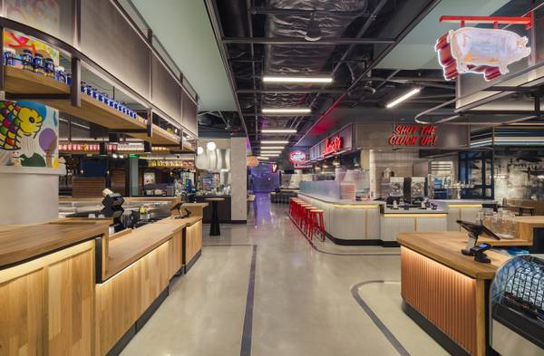 Strip for Locals: The Cosmopolitan's Block 16 Food Hall