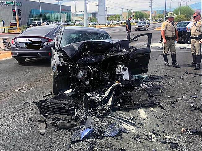 Las Vegas Car Accident >> Dui Suspect In Fatal Las Vegas Crash Had Dui Conviction In