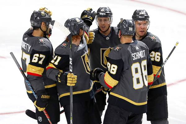 Opening night preview: Golden Knights beat Sharks in physical end to preseason