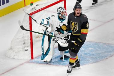 Everyone knows who is coming to town tonight. Since the schedule was released, Vegas has been buzzing, knowing it was going to get a playoff rematch. And not just any playoff rematch: a chance for the Golden Knights to ...
