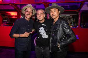 Shepard Fairey Unveils Mural at On The Record