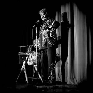 Comedian Rip Taylor performs at the Sahara Las Vegas on ...