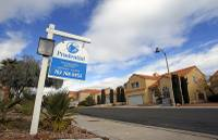 The median price for an existing home in the Las Vegas area at the end of September was $310,000, according to a report released today by the ...