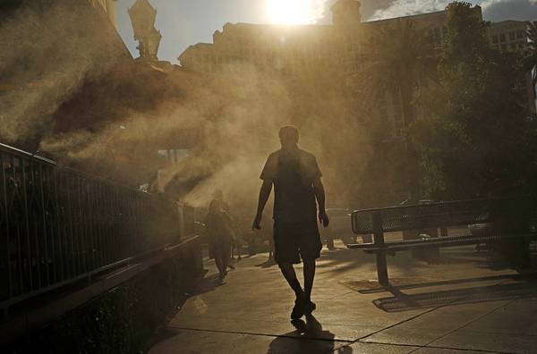 Las Vegas planners discuss how to mitigate the urban heat island effect