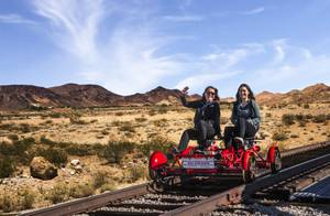 Rail Explorers Attraction in 360 Degrees