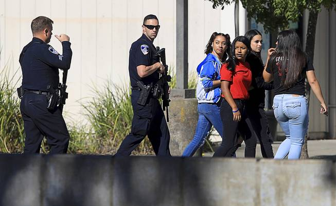 17-year-old shoots teen outside California school, slips into class